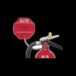 Anunciador Audible de Robo de Extintores, en Español