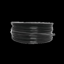 Bobina de 152 Metros de Cable Detector de Calor, Temperatura Fija 185° C, Recubrimiento de Nylon Negro para Aplicaciones en Ext