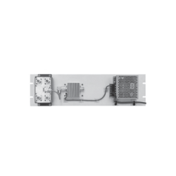 Multiacoplador de 400-512 MHz, 4 Salidas, 40 MHz y 0-18 dB de Ganancia.