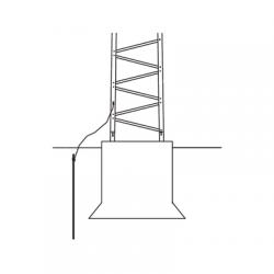 Sistema de Aterrizaje Básico para Estructura de Torre TITAN.