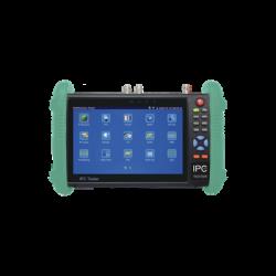 "Probador de Video con Pantalla LCD de 7"" para IP / HD-TVI (TurboHD) / Análogo, ONVIF, Wi-Fi, Scanner IP"