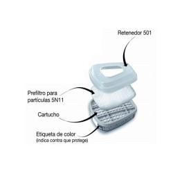 Retenedor De Filtro 3m 501