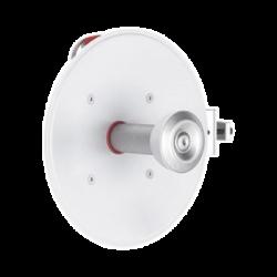 Paquete de 2 antenas UltraDish de 21.2 dBi, conector tipo Twistport y montaje innovador, 5180 - 6400 MHz