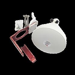 Antena Sectorial Simétrica de 30 °, 19 dBi, 4.9-6.5 GHz, Ideal para ambientes de alto ruido, Tipo de conector N-Hembra, con m