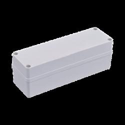 Gabinete Plástico para Exterior (IP65) de 248 x 77 x 87 mm Cierre por Tornillos.