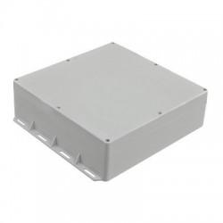 Gabinete Plástico para Exterior (IP65) de 300 x 300 x 90 mm Cierre por Tornillos.