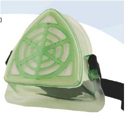 Respirador Triangulo Material Particulado Armadura. A-4240