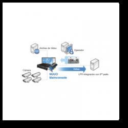 Licencia base de 4 canales para reconocimiento de placas (LPR) en Estacionamientos/Fraccionamientos