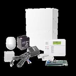 Sistema de Alarma VISTA48LA con Sensor de Movimiento, Contactos Magneticos, Sirena de 15 Watts, Bateria y Transformador