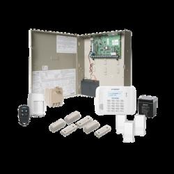 Sistema de Alarma con Comunicador IP Intercontruido en Kit Inalambrico
