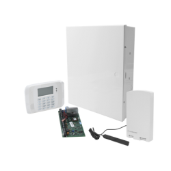 Sistema de Alarma VISTA20P con Comunicador ALARM.COM GSM / ZWAVE / Integración LUTRON / YALE / Teclado Alfanumerico y Receptor