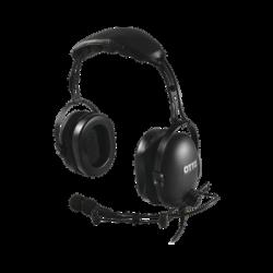 Diadema Heavy Duty sobre la cabeza para KENWOOD NX-340/320/420, TK-3230/3000/3402/3312/3360/3170