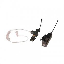 Kit de Micrófono-Audífono profesional de 2 cables para Motorola PRO5150/5350/5450/5550/7150/7350/7450/7550/9150