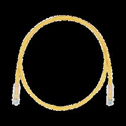 Cable de Parcheo TX6, UTP Cat6, 24 AWG, CM/LSZH, Color Amarillo, 10ft