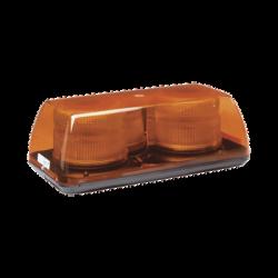 Mini Barra de Luces Estroboscopica, Color Ámbar, Montaje Permanente