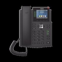Teléfono IP Empresarial con Estándares Europeos, 6 lineas SIP con pantalla LCD a color, puertos Gigabit, IPv6, Opus y conferen