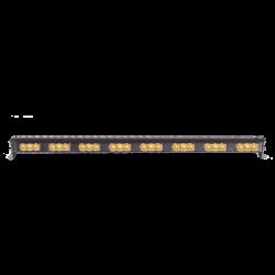 "Barra de luces LED direccionadora de tráfico color ambar de 30"""