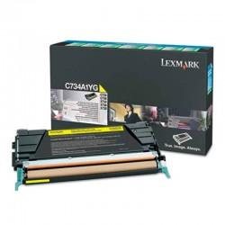 X748 Yellow High Yield Return Program Toner Cartridge   Suministros Toner Rendimiento 10.000 X748