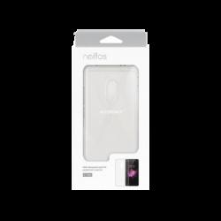 Case Protector para Celular Neffos X1, Transparente