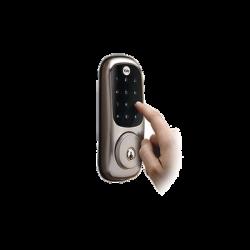 Cerradura Real Living/ Teclado y Llave / 25 Usuarios/ Expandible con Total Connect / Expandible Control por Smarphone