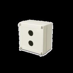 Caja industrial de conexión (Ruggedized), de 2 puerto de cobre o fibra, con protección IP66/IP67 (NEMA 4X)