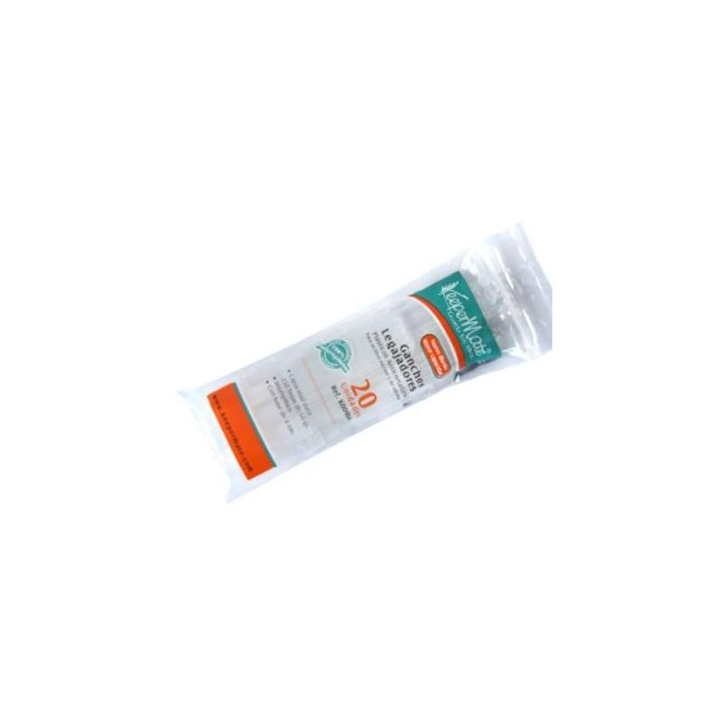 GANCHO Legajador Plastico Keepermate Caja x 20 Unid.