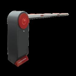 Barrera Vehicular / Brazo de 5.5 m / Incluye Brazo Iluminado / Diseño Elegante / Serie INDUSTRIAL