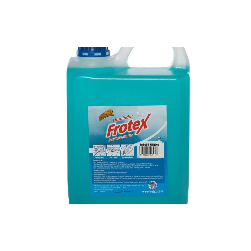 Limpiador desinfectante Floral Frotex x3000cc