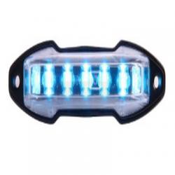 Luz auxiliar con 9 LED color claro angulo de 180 grados