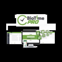 Software de Gestión Centralizada de Asistencia BIOTIMEPRO Licencia BIG PROJECT 300 dispositivos y 30 mil empleados