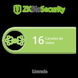 Licencia para ZKBiosecurity para modulo de video hasta 16 canales de video