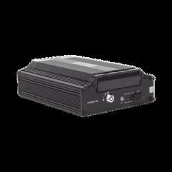 (NUBE EPCOMGPS) DVR móvil tribrido / almacenamiento en HDD / 4 canales AHD hasta 2MP + 1 canal IP hasta 2MP / compresión de v