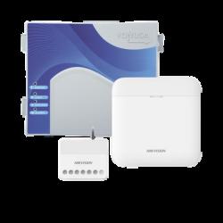 (AX PRO + YONUSA) KIT de Alarma AX PRO / Incluye: 1 Hub / 1 Energizador 2500Mts Lineales / 1 Relevador 0 a 36 VCD (Max. 5 A) co