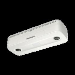 Cámara IP Dual 2 Megapixel / Lente 2 mm / Conteo de Personas / PoE / Uso en Interior / 6 mts IR / Ultra Baja Iluminación
