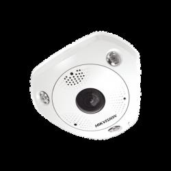 Fisheye IP 12 Megapixel / 180° - 360° / DEWARPING / Exterior IP67 / IK10 / 15 mts IR / Entrada y Salida de Audio y Alarma / M