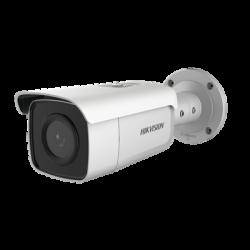 Bala IP 8 Megapixel / Filtro de Falsas Alarmas / Lente 2.8 mm / 60 mts IR EXIR / Exterior IP67 / Sirena y Luz Integrado / Micró