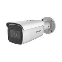 Bala IP 8 Megapixel (4K)/ Lente Mot. 2.8 a 12 mm / 60 mts IR EXIR / IP67 / IK10 / WDR 120 dB / PoE / Videoanaliticos (Filtro de
