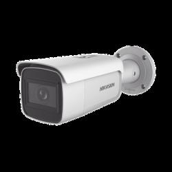 Bala IP 2 Megapixel / Lente Mot. 2.8 a 12 mm / 60 mts IR EXIR / Exterior IP67 / IK10 / WDR 120 dB / PoE / Micro SD / Videoanali