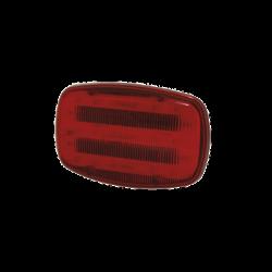 Luz de advertencia led roja magnetica