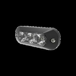 Luz perimetral de 3 LEDS color blanco
