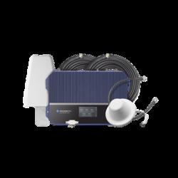 KIT Amplificador de señal celular 4G LTE, 3G y Voz. Especial para áreas comerciales que reciben la señal de múltiples torres