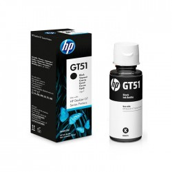 CARTUCHO HP BLACK GT51 BOTTLE  DESKJET GT 5810 , 5.000 Pag.