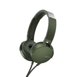 Audífonos Sony EXTRA BASS™ XB550AP/verde