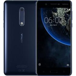 Celular NOKIA 5 Snapdragon/430 OC/1.4Ghz/Pant 5.2HD/ ROM 16GB RAM 2GB/ Android 7.1 Nougat/ Cámara 8MP-13MP/ Azul