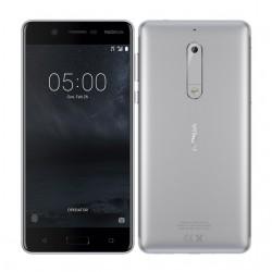 Celular NOKIA 5 Snapdragon/430 OC/1.4Ghz/Pant 5.2HD/ ROM 16GB RAM 2GB/ Android 7.1 Nougat/ Cámara 8MP-13MP/ Gris