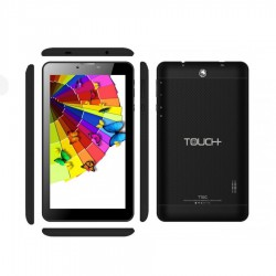 Tablet TOUCH 770N/Allwinner A33/QC/1.2Ghz/Wifi/ Pant 7/ROM 8GB RAM 1GB/Android 8.1/Cámara F.0.3MP T 2MP/ Negro
