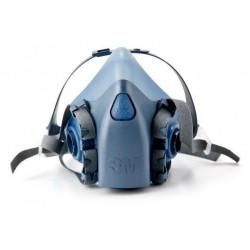 Respirador 3m 7500 Media Cara  (Silicona)