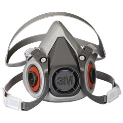 Respirador 3m Serie 6000 Media Cara