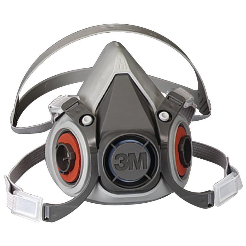 Respirador  3m Serie 6000 Media Cara (Elastomero)