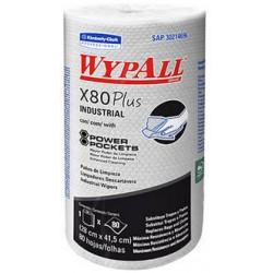 WYPALL X-80 ROLLO PLUS DE 80 HOJAS
